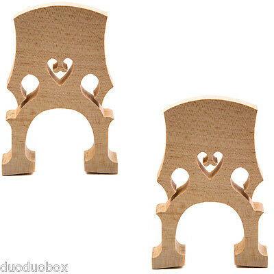 2PCS Cello 4/4 Size Bridge Maple Workmanship Exquisite