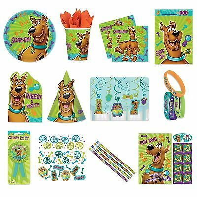 SCOOBY DOO (NEW!) Birthday PARTY RANGE {Amscan}(Tableware/Decorations/Balloons)