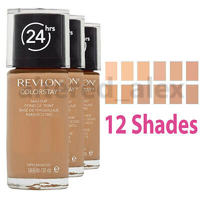 Revlon Colorstay 24 Hours Skin Foundation Makeup 30ml Choose Shade colourstay UK