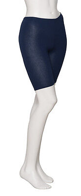 Girls Ladies Navy Cotton Dance Gym Shorts By Katz Dancewear KDTC04
