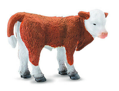 FREE SHIPPING | CollectA 88236 Hereford Calf Toy Cow Replica - New in Package