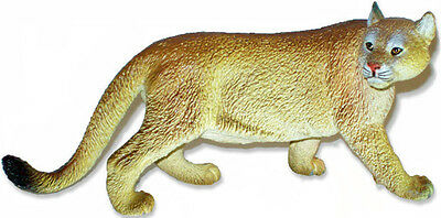 FREE SHIPPING | AAA 52012 Cougar Mountain Lion Animal Figurine - New in Package