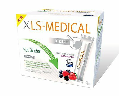 XLS Medical Direct Fat Binder Sachets - NEW DIET / WEIGHT LOSS - BEST VALUE!!!
