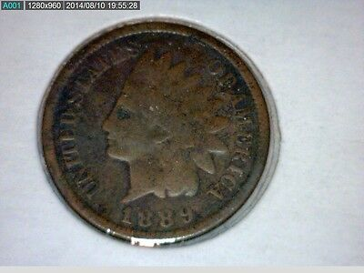 1889, 1890, 1892     Indian Head Cent  3 coin lot