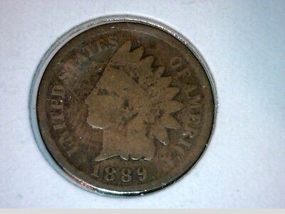 1889, 1890, 1891     Indian Head Cent  3 coin lot