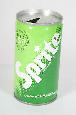 Sprite Soda Can 12oz C/S with USA Olympic Team Seal
