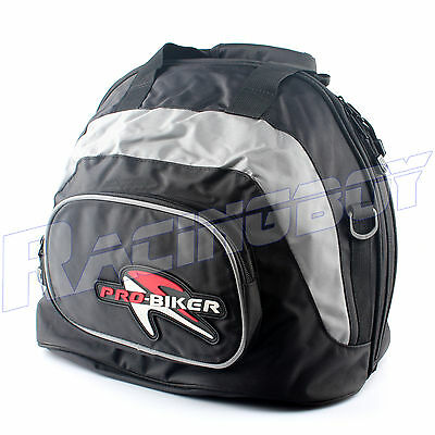Soft Motorcycle Bike Helmet Carrier Bag Riding Backpack Luggage Carry Case New