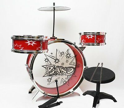 Wonders Shop USA Toy Small Drum Musical Children Plastic Kid Big Band Play Set -