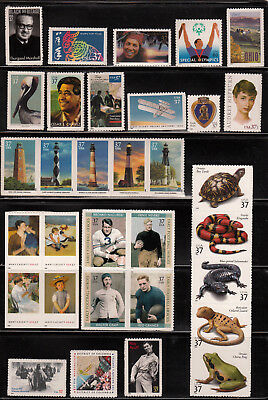 2003 Us Commemorative Year Set 41 Stamps Mint Nh