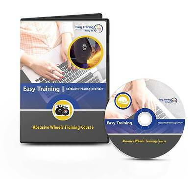 Abrasive Wheels Operator and Health and Safety Training Learning Course DVD