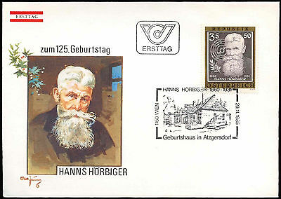 Austria 1985 Hanns Horbiger FDC First Day Cover #C18282