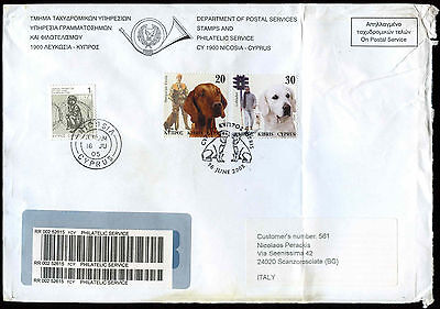 Cyprus 20 Registered Covers 2001-2008 #J1