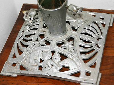 VERY NICE OLD GERMAN TREE STAND+ANTIQUE+ALTER CHRISTBAUMSTÄNDER+CHRISTMAS CAST