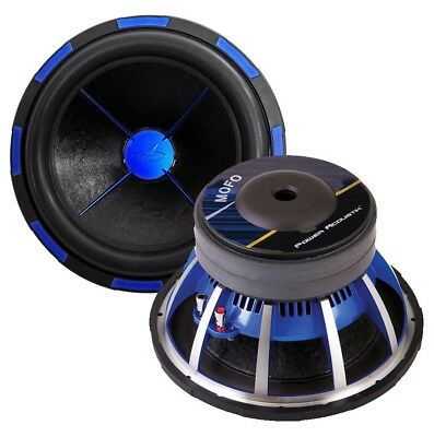 "New Power Acoustik Mofo122X 12"" Dvc 2700W Car Audio Subwoofer 12In Sub Woofer"