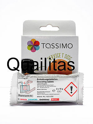 TASSIMO DESCALING KIT /For  TAS55.TAS43.TAS47