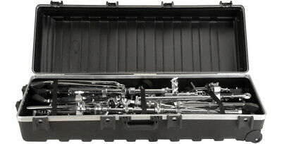 SKB TRAP ATA LARGE MOLDED HARD CASE w/ WHEELS for DRUM HARDWARE & MIC STANDS