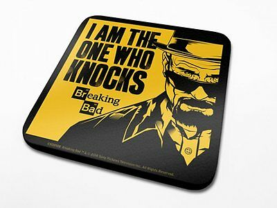 OFFICIAL Breaking Bad (I Am The One Who COASTER/DRINKS MAT BY PYRAMID CS00108