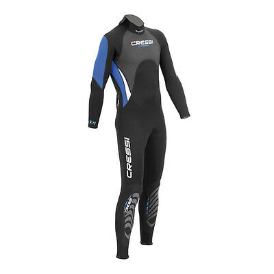 Cressi Morea Mens 3mm Neoprene Jumpsuit Wetsuit 02UK