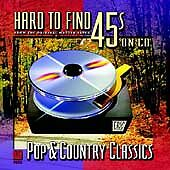 Hard to Find 45s on CD: Pop & Country Classics