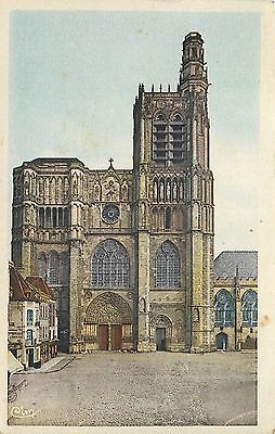 89 Auxerre Cathedrale 1966