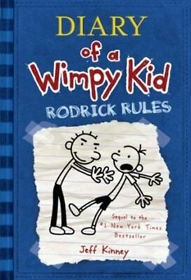 Rodrick Rules (Diary of a Wimpy Kid, Book 2) by Jeff Kinney, FREE SHIP