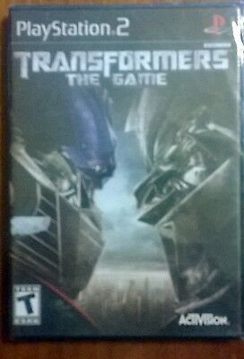 "PS2 game TRANSFORMERS  "" The Game """