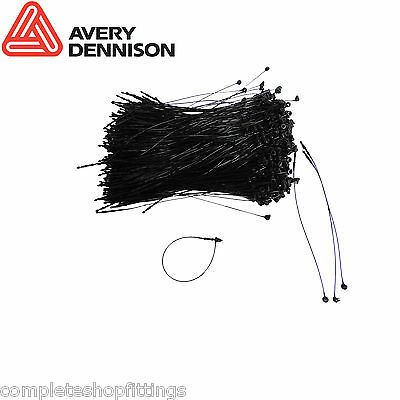 Black Avery Dennison Lock Pin Tag Fastener, Loop Security Fastening, Cable Tie