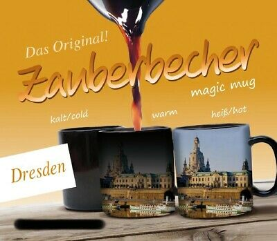 Zauberbecher Dresden Germany Zaubertasse Souvenir Magic Mug,300 ml.,Neu