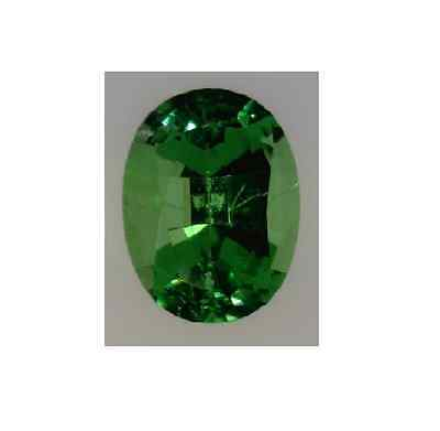 Natural Fine Medium Green Tsavorite Garnet - Oval - Sri Lanka - Top Grade