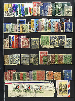 Lot 80 Timbres Anciens Australie Oceanie