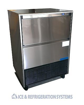 Stainless Steel  135Lb Commercial Undercounter Ice Machine Maker
