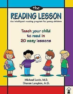 The Reading Lesson : Teach Your Child to Read in 20 Easy Lessons by Charan...
