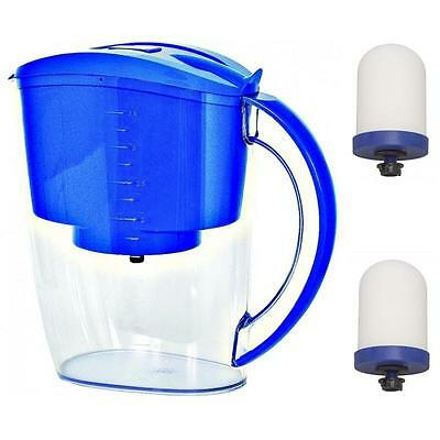 Propur Fluoride Water Filter Pitcher With (2) Proone M G2.0 Filters + Gift *