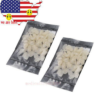 2 bags Temporary Crown Patch Dental Materials film piece porcelain teeth anterio