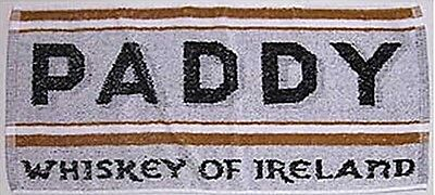 Porte Serviette Paddy Irish Whiskey En Coton (pp)