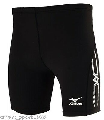 PANTALONCINI MIZUNO MID TIGHT 201 TEAM RUNNING uomo 52RT201 nero