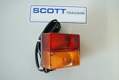 Ifor Williams Britax Rear Combination Lamp, Stop/Tail/Indicator