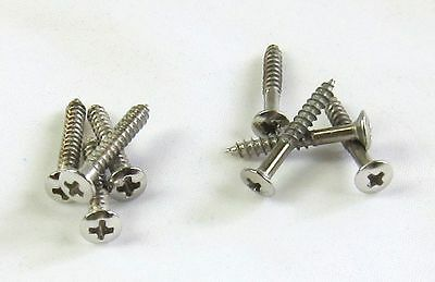 Ring Mounting Screw Set of 8 in CHROME For Humbucker $1.00 USA Shipping