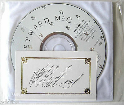 FLEETWOOD MAC - Don't Go, Please Stay CD, w/card signed by Mick Fleetwood!