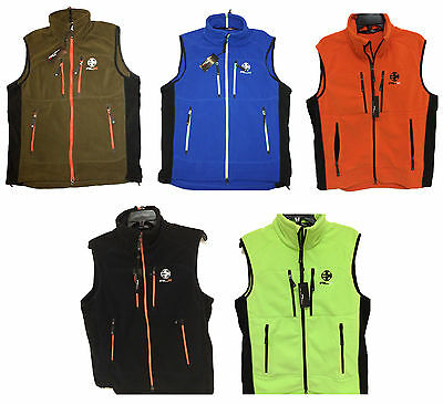 Polo Ralph Lauren Men's Rlx Fleece Vest Blue Green Orange Black M L Xl Xxl $165