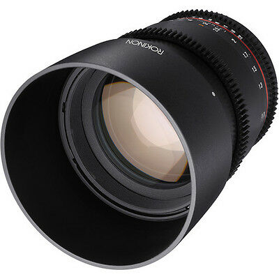 Rokinon DS 85mm Fixed/Prime T1.5 Full Frame Cine Lens for Micro Four Thirds WIDE