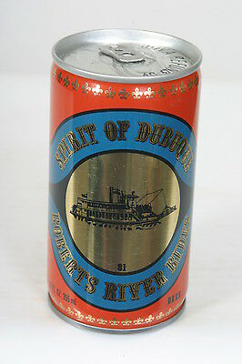 SPIRIT OF DUBUQUE BEER Can 12oz C/S Stay Tab Pickett, IOWA 1981 - 9/10/14