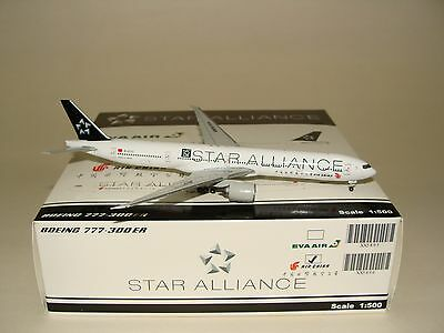 JC Wings 1:500 Air China B777-300ER Star Alliance Herpa 500 Scale free shipping