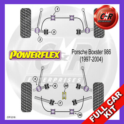 Porsche Boxster 986 (97-04) Powerflex Complete Bush Kit
