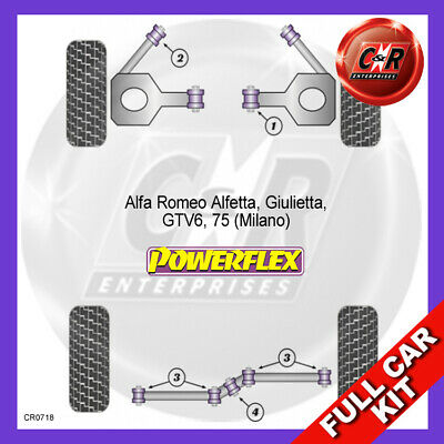 Alfa Romeo Giulietta Powerflex Complete Bush Kit