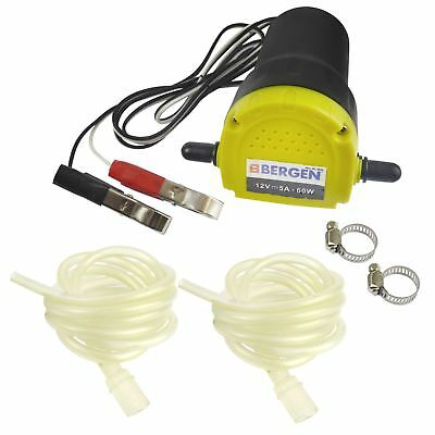 12V Oil Fluid Extractor Transfer Pump Electric Siphon Car Motorbike Remove AT789