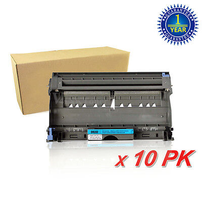 10PK DR350 Drum Unit For Brother Intellifax 2820 2920 HL-2040R 2070NR 2040 2070N
