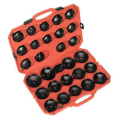 Sealey Vehicle/Car Adjustable Oil Filter Cap Type Wrench Set 30pc - VS7006