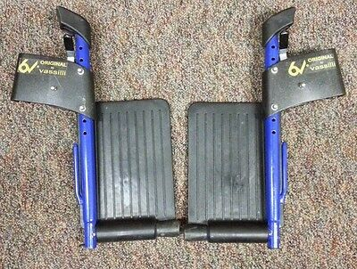 FOOTREST ASSEMBLIES, Left & Right, for ORIGINAL VASSILLI Wheelchairs