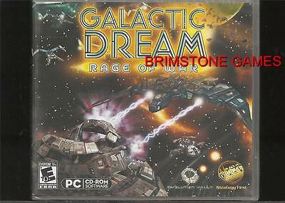 GALACTIC DREAM: RAGE OF WAR (PC Games) Win 8 / 7 / VISTA / XP * NEW & SEALED